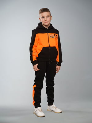 Костюм спортивний з начосом: толстовка і штани | 5417286