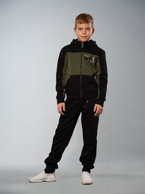 Костюм спортивний з начосом: толстовка і штани | 5417288