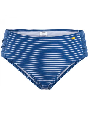 Трусы купальные синие в полоску | 5405134