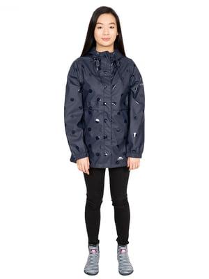 Куртка синяя в горох | 5405183