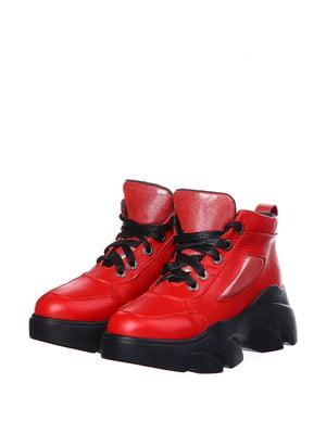 Ботинки красные | 5337092