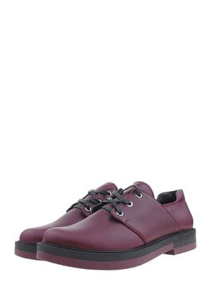 Туфлі бордові | 5397670