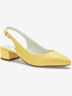 Туфли желтые | 5419058
