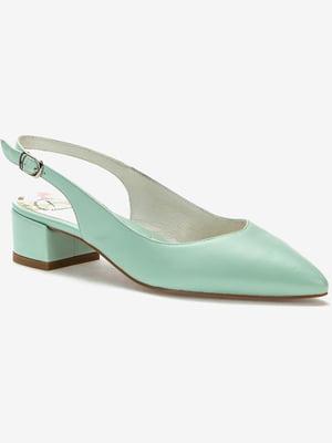 Туфли светло-зеленые | 5419059
