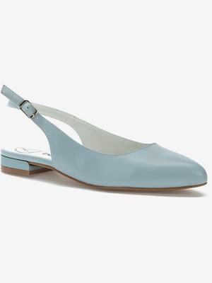 Туфли голубые | 5419077