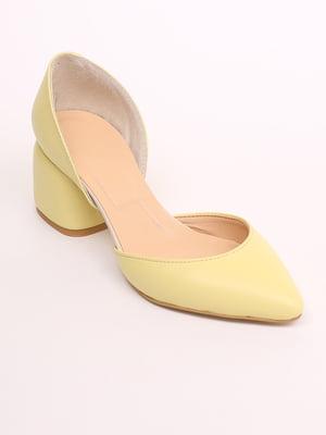 Туфли желтые | 5419208