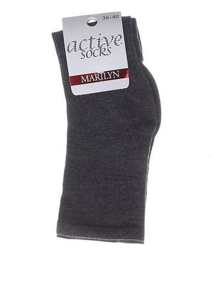 Носки темно-серые | 5224321