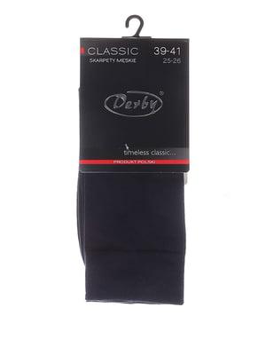 Носки темно-синие | 5224328