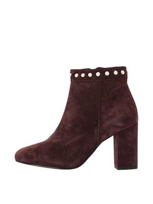 Ботинки коричневые | 5419384