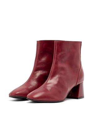 Ботинки сливового цвета | 5419391