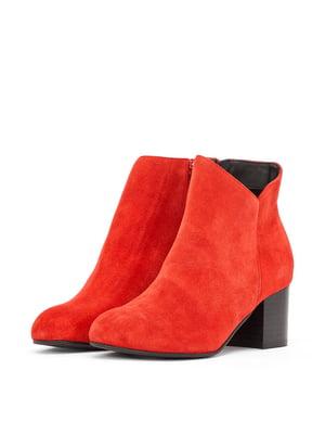 Ботинки красные | 5419399