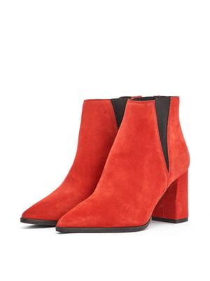 Ботинки красные | 5419400