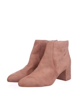 Ботинки розовые | 5419425
