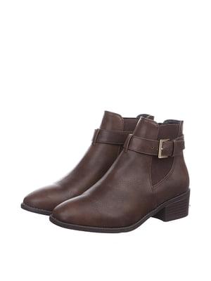 Черевики коричневі | 5419426