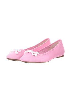 Балетки рожеві | 5419447