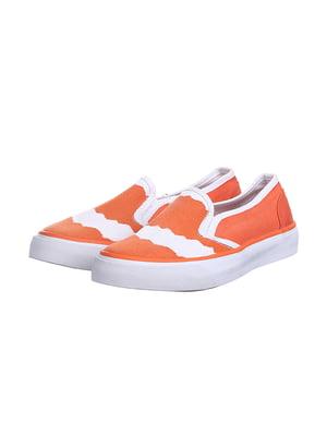 Слипоны оранжевые | 5419450