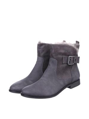 Ботинки серые | 5419485