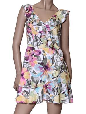 Платье с принтом | 5419544