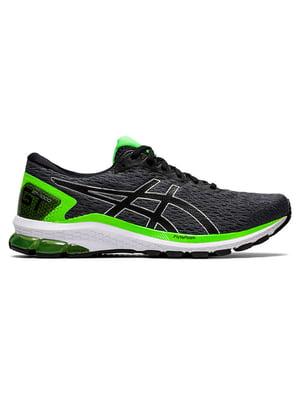 Кросівки чорно-зелені | 5398111