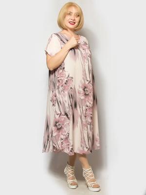Платье в цветочный принт | 5421106