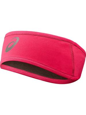 Пов'язка на голову рожева | 5259718