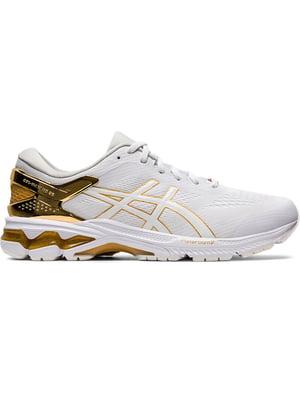 Кросівки біло-золотисті | 5398119