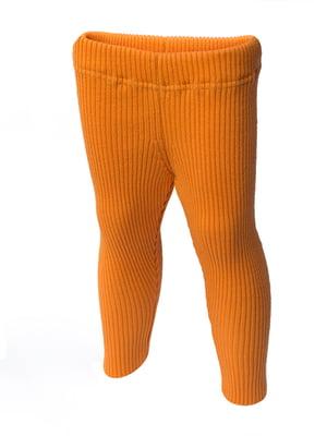 Термолеггинсы оранжевые | 5421471