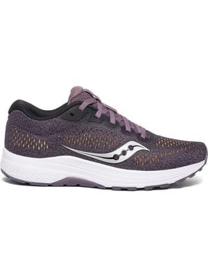Кросівки сливового кольору з логотипом | 5398599
