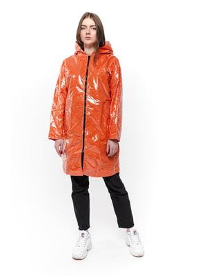 Дождевик оранжевый | 5421507