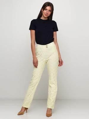 Штани лимонного кольору | 5423044