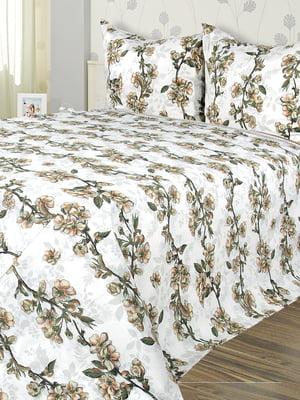 Комплект постельного белья двуспальный с простынею (220х200 см) | 5382036