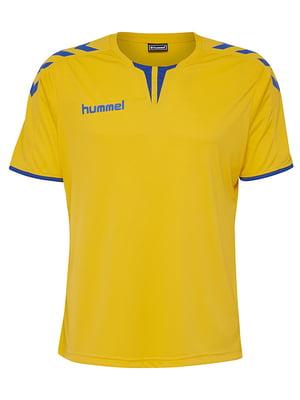 Футболка желто-синяя | 5421621
