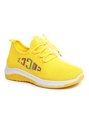 Кросівки жовті   5421372