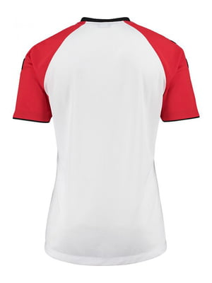 Футболка бело-красная | 5421678