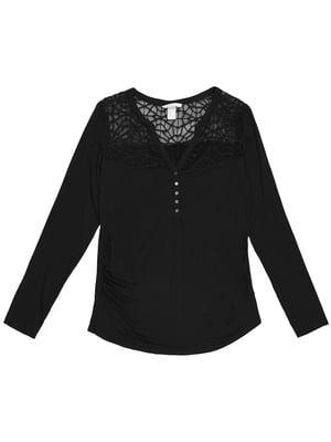 Блуза для беременных черная | 5351908