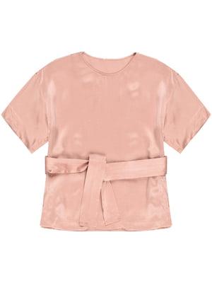 Блуза цвета пудры | 5351990