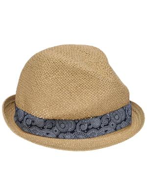 Шляпа песочного цвета | 5366546