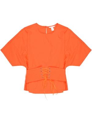 Блуза оранжевая   5323895