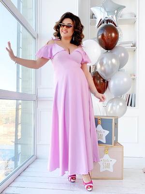 Платье лавандового цвета | 5423522