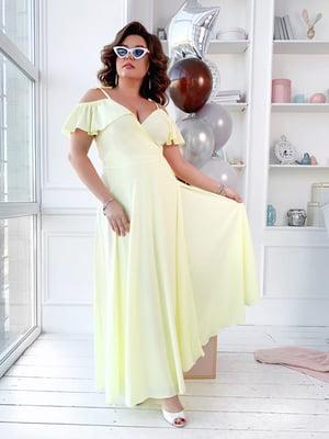 Платье лимонного цвета | 5423523