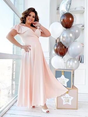 Сукня персикового кольору   5423525