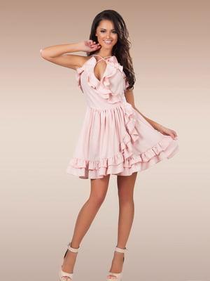 Сукня пудрового кольору | 5423634
