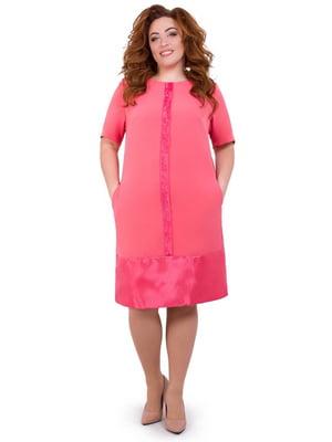 Сукня коралового кольору | 5423642