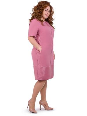 Платье фрезового цвета   5423645