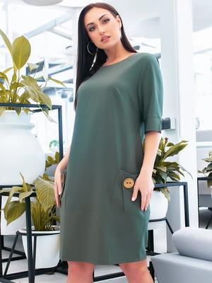 Сукня темно-зелена | 5423666