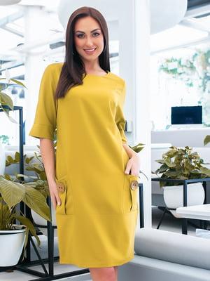 Платье фисташкового цвета   5423667