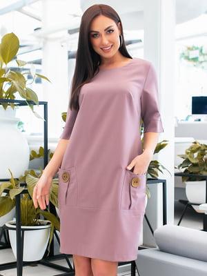 Сукня фрезового кольору | 5423668