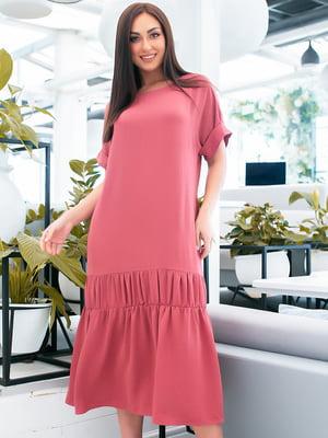 Сукня фрезового кольору   5423675