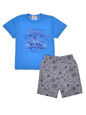 Комплект: футболка и шорты | 5424045