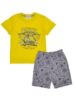 Комплект: футболка и шорты | 5424046